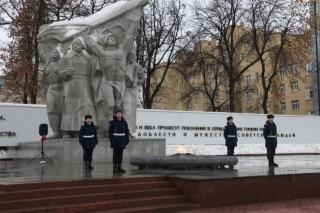 Глава Рязани Владислав Фролов принял участие в праздновании Дня защитника Отечества