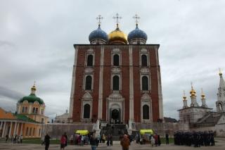 В Рязанском кремле прошли праздничные богослужения