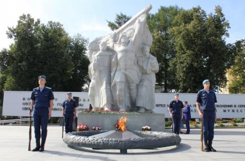 В Рязани отпраздновали 76-ю годовщину победы в Курской битве