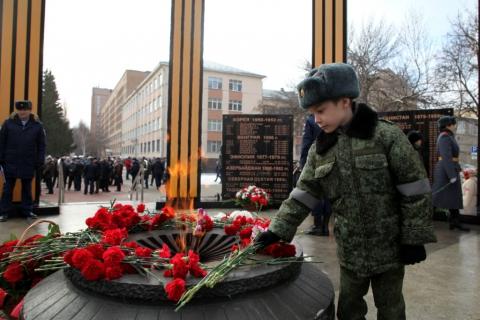 В Рязани отметили годовщину вывода советских войск из Афганистана