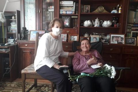 Лариса Максимова: «Всю жизнь вы посвятили служению людям»