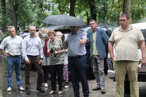 В Рязани продолжается приемка дворовых территорий после ремонта